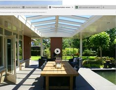 Outdoor Rooms, Outdoor Living, Outdoor Decor, Steel Windows, Covered Pergola, House Extensions, Back Patio, Backyard, Outdoor Structures