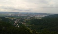 Beautiful view from Jasenov castle ruin