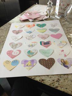DIY: Transform Your Baby Shower Cards into Nursery Art! - Veronika's Blushing