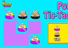 PouJuegos.com - Juego: Pou Tic Tac Toe - Jugar Juegos Gratis Online Flash