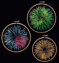 spool spectrum - fireworks