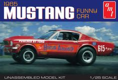 1965 Mustang Funny Car - AMT Model Kit