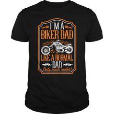 **Limited Edition** I'm a Biker Dad - Hot Trend T-shirts