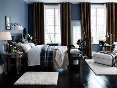 Bedroom ideas - Bedroom - IKEA love this room. Unisex bedroom