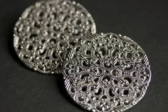 Two (2) Norse Shoulder Brooches. Ornate Silver Apron Pins. Silver Viking Brooches. Historical Renaissance Jewelry. Renaissance Jewelry. by Gilliauna from Bits n Beads by Gilliauna. Find it now at http://ift.tt/2wxnsL2!