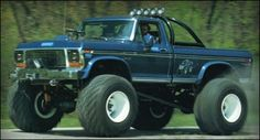 """1974 Ford F250 (Bigfoot) from """"Take This Job and Shove It."""""""