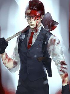 Joseph Oda, psycho break log | MK [pixiv] http://www.pixiv.net/member_illust.php?mode=medium&illust_id=54038435