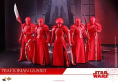 【Star Wars: The Last Jedi - 1/6th scale Praetorian Guard (With Double Blade) Collectible Figure 】  Star Wars fans around the world are eagerly waiting for December to come soon as Star Wars: The Last Jedi will finally hit the theaters! In this latest installment of the Star Wars saga, fans will get a closer look at the First Order's Supreme Leader Snoke who will be flanked by loyal protectors clad in crimson colored ornate armor to defend the sinister leader from any danger.  In anticipation…