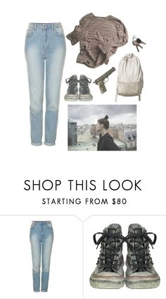 """""""dirt"""" by animeandbands ❤ liked on Polyvore featuring Topshop, Converse and Universal"""