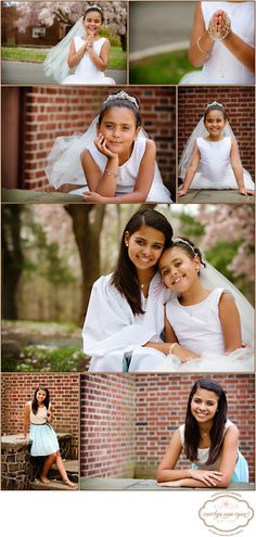Communion and Confirmation Portraits in Metuchen, New Jersey  Photos by Carolyn Ann Ryan Photography