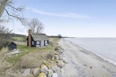 Holiday home Westmön Rytsebækvej 37 4780 Stege Beach Mansion, Holiday Destinations, Travel Destinations, Beach Cottage Style, Beach Shack, Beach Cottages, Places To See, The Good Place, Beautiful Places