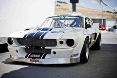 Mustang racing car