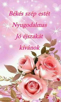 Night Wishes, Good Night, Rose, Flowers, Plants, Night, Nighty Night, Pink, Plant