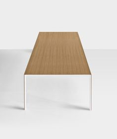 Thin-K table designed by Luciano Bertoncini