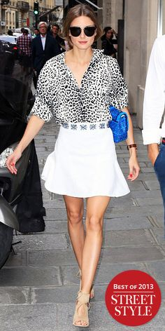 Look of the Day - January 1, 2014 - Olivia Palermo from #InStyle