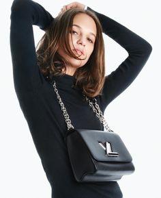 Alicia Vikander stars in Louis Vuitton Twist handbag 2016 campaign