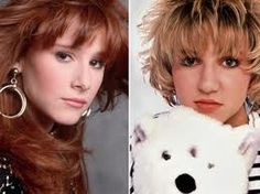 "Tiffany and Debbie Gibson... Very old school.. haha...""I think we're alone now"" & ""Shake your love"" a couple of favs from back then lol"