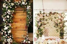 fondos para decorar la boda