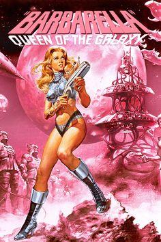 Barbarella-this movie cracks me up!