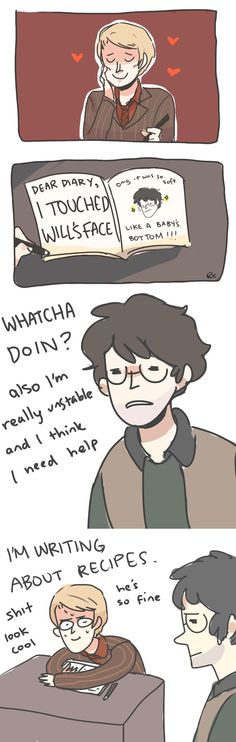 THIS MADE ME LAUGH TOO HARD.. IM IN DEEP (thats what i wish hannibal would say to will ;) #hannigram5ever )