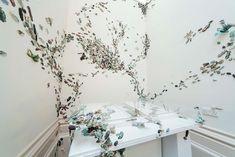 Stirring the Swarm: A Horde of 10,000 Ceramic Beetles Crawl Across Gallery Walls