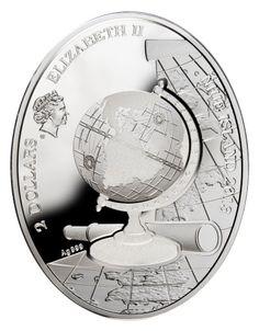 Niue - 2013 - 2 Dollars - Continents EUROPE - Niue - Oceanie & Australia