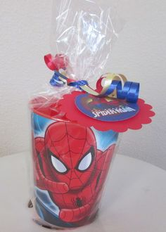 Super birthday party for men ideas goody bags 29 Ideas Party Favor Bags, Birthday Party Favors, Birthday Party Decorations, Goody Bags, Birthday Cakes, Spider Man Party, 6th Birthday Parties, Birthday Fun, Ideas Party