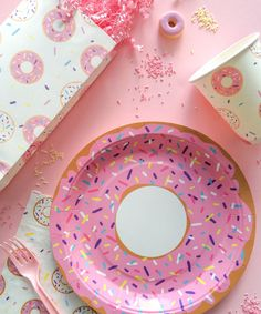 Donut Party Plate – Oh Happy Day Shop