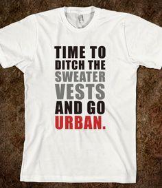 Haha go urban Meyers
