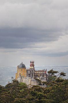 Palacio de Pena, Sintra, Portugal