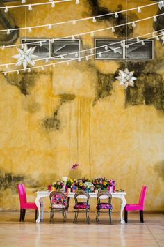Colorful hacienda wedding inspiration | Elizabeth Medina Photographic Artisans | see more on: http://burnettsboards.com/2015/01/colorful-yucatan-hacienda-wedding/