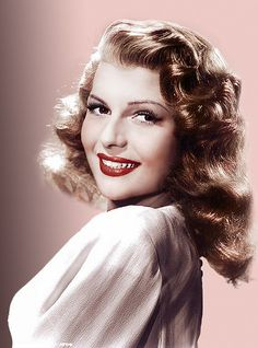 Rita Hayworth is such a beauty.  She could never take a bad portrait if she tried.