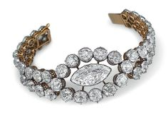 Diamond Bracelet by Cartier, 19th century