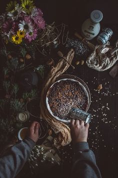 Baked Blueberry & Rose Water Oatmeal (Vegan & Gluten Free) | TermiNatetor Kitchen | A Midwest-based food and photography blog