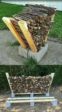 Garden Yard Ideas, Backyard Projects, Lawn And Garden, Outdoor Projects, Garden Projects, Fire Pit Backyard, Backyard Patio, Backyard Landscaping, Outdoor Firewood Rack