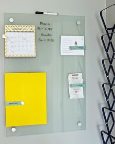 Mini Command Center: Wall-Mounted Accordion File Holder