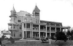 Nashville Sanitarium - from the website WhatWasThere.com. You should visit that website to see this building's location placed in the present day surroundings. Very cool.