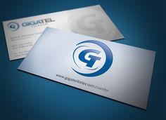 Cartão de visita e logomarca Gigatel