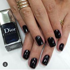 Desafio 1 esmalte por semana -  903 Encre the Chine Black Ynk, Dior