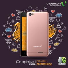 #Videocon Graphite1 V45ED comes with new #Marshmallow android version and  1 GB RAM to give you a smooth and swift multitasking experience. To explore visit - http://www.videoconmobiles.com/graphite1v45ed