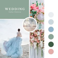 Blue, green, and pink. The PERFECT classy wedding pallete for any season. Wedding Tips, Wedding Ceremony, Wedding Day, Real Couples, Great Memories, Maid Of Honor, Wedding Accessories, Special Day, Bridesmaid Gifts