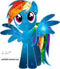 Dashie Way by on DeviantArt Mlp My Little Pony, My Little Pony Friendship, Disney Princess Babies, Princess Luna, Rainbow Dash Party, Crystal Ponies, Cartoon Clip, Little Poni, Nightmare Moon