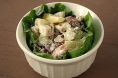 Fruit and Nut Vegetarian Chicken Salad | Vegetarian Casserole Queen
