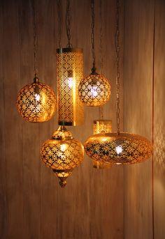 Karma Living Iron Gold Pendant Lights