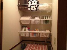 洗濯機コーナー : ずぼら主婦でもできる整理整頓☆収納テク - NAVER まとめ