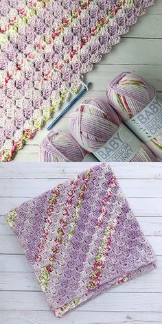 C2C Baby Blanket Free Crochet Pattern