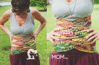 DIY Postpartum  Belly binding / DIY banda/faja postparto *** Binding the stomach offers support, stability and comfort to the muscles, skin and internal organs to repair and bring healing to the postpartum body