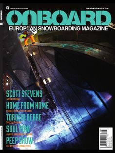 Onboard is the only real pan-European snowboard magazine, bringing riding to the lift queues, living rooms, lavatories of snowboarders across our fair continent. Onboard delivers an informative and thorough perspective of all things shred; from interviews with leading riders and rising stars, to travel stories, how-tos, resort guides, product reviews, and opinion pieces on things that really mater to snowboarders.