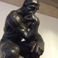 Auguste Rodin - The Thinker - Ca'Pesaro Museum Venice