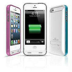 Home :: Best Sellers :: Naztech Apple Certified 2400mAh Power Case for Apple iPhone 5/5s - White - Retail